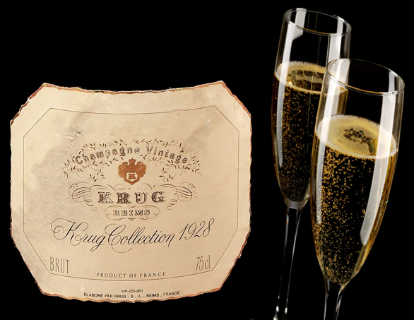 Krug Champagne Auctions US$21.200