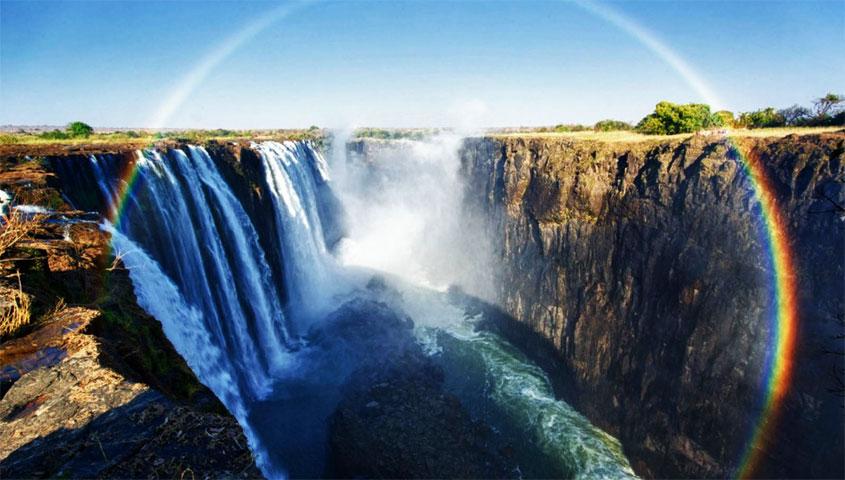 Victoria Falls seria tipo as cataratas do Iguaçu Africana?